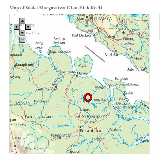 Peta Jalan Kota Pekanbaru Riau