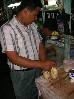 Cara Membuat Teh Telur Ajo