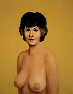 It's called Bea Arthur Nude and at one time it was in a Tate Gallery show, ...