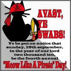 Meow Like a Pirate Day