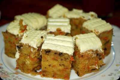 Resepi Carrot Cake