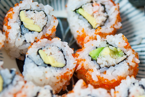 SUSHI RECIPE: CALIFORNIA ROLL RECIPE