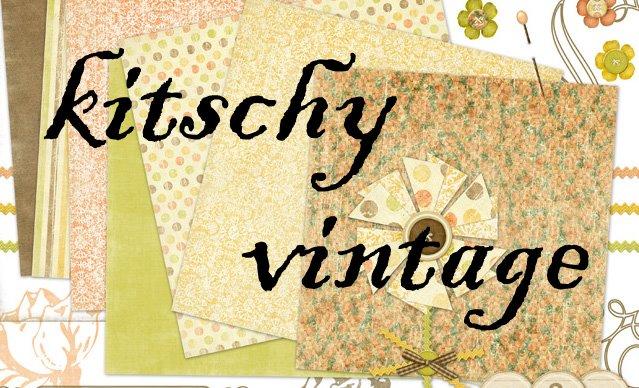 kitschy vintage