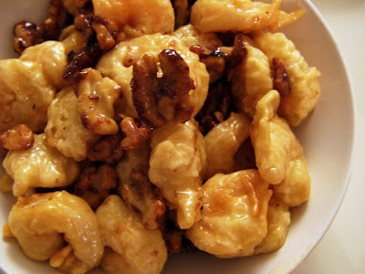also tried chinese food honey walnut shrimp is one