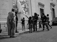 Inauguração do Mural Intercultural