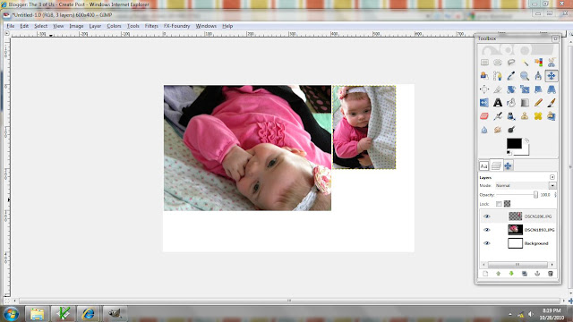 How To Make A Collage in Gimp