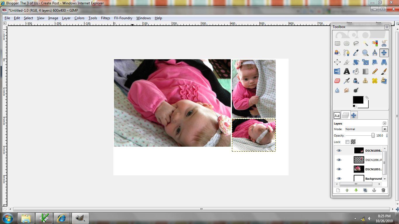 fotomontaje tercera imagen posicionar