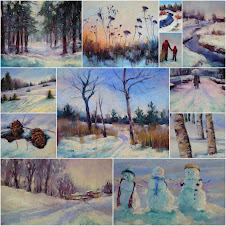 My Winter Paintings