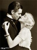 Clarck Gable e sua esposa...