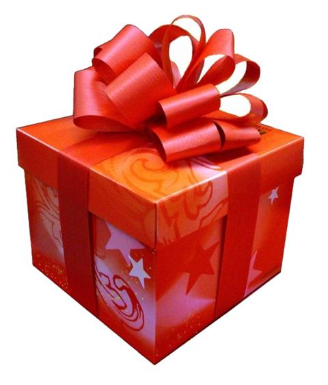 Coniglio giallo dicembre 2010 for Immagini di pacchetti regalo