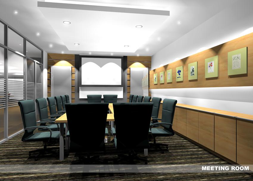 Image interior design diagonal office chulan tower kuala for Office design kuala lumpur