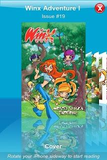 Винкс комиксы для айфона скачать (Winx Comics iPhone)