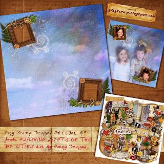 http://ginyscrap.blogspot.com/2009/10/flashing-lights-qp-freebie.html