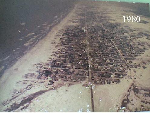 Vista Aérea de Quintão em 1980