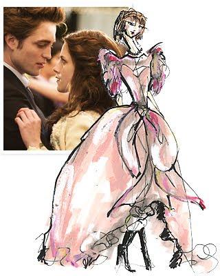 kristen stewart bella wedding dress. wedding dress that Kristen