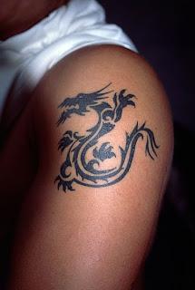 Sports Temporary Tattoos Dragon