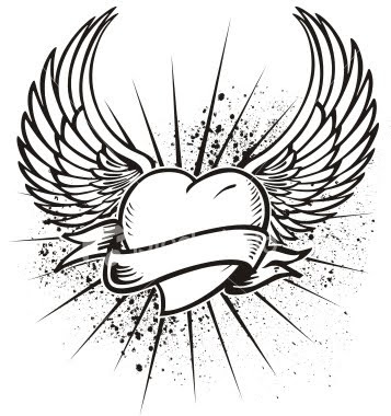 heart tattoos for men. heart tattoos for men.