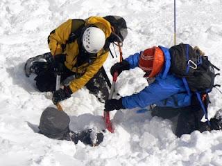 Cómo se sobrevive a una avalancha?