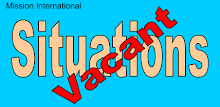 Mission International - Situations Vacant