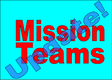 Mission Teams - Updates and News!