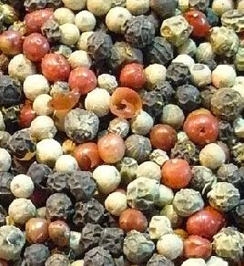 Mixed dried peppercorns