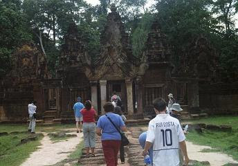 Aidan Brooks visits Angkor Wat - symbol of a great civilisation