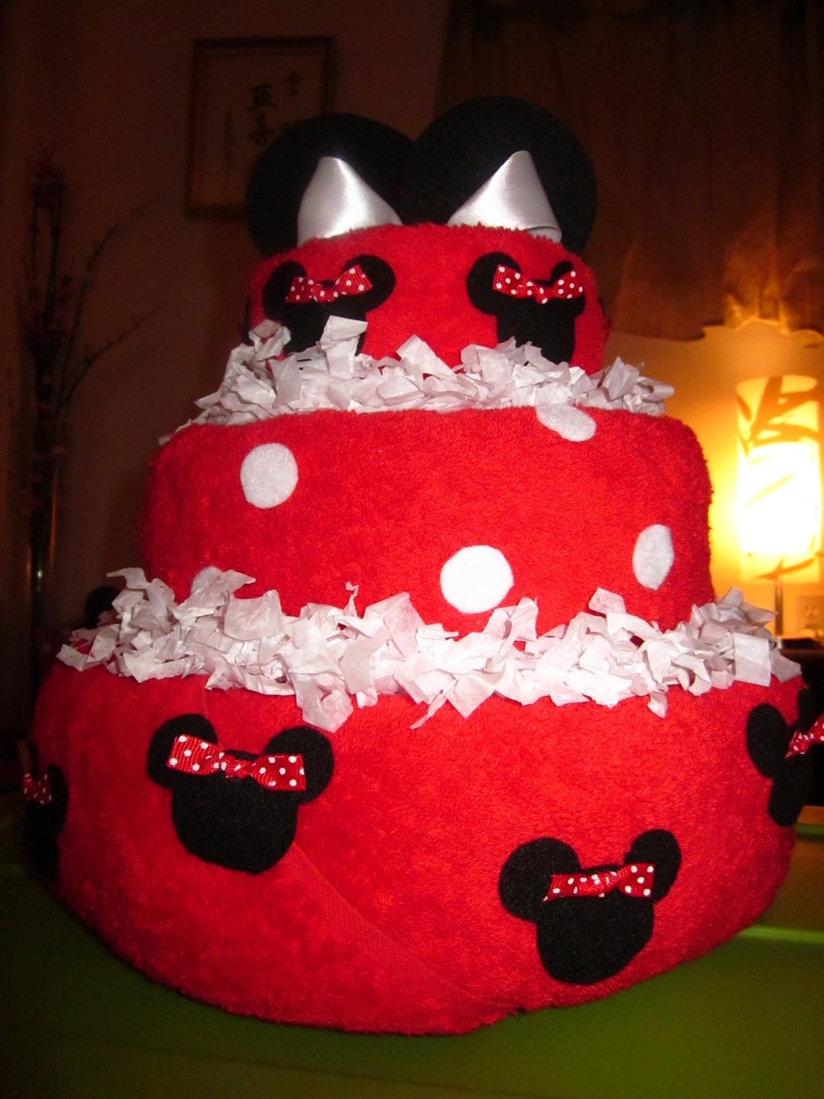 Sugar Free Delights Disney Minnie Mouse Bridal Shower Cake