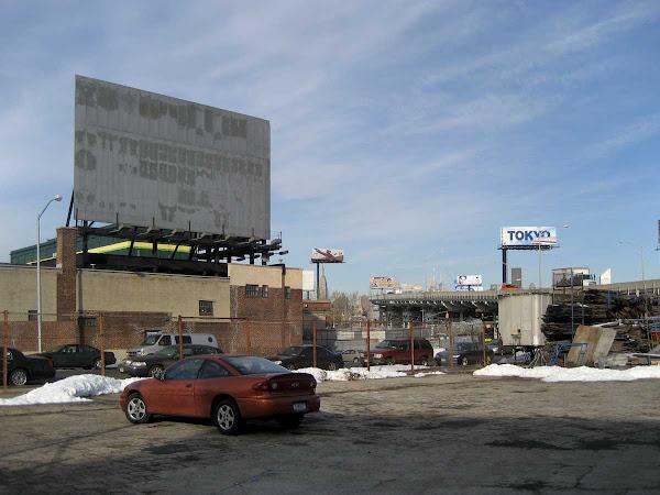 Dead Drive-In Movie - On Van Dam at Bradley in Queens.