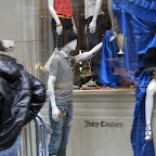Decadent Mannequins - Decadent mannequins loiter in a `Queen of Stuff` display at Juicy Couture on 5th Ave. a few years ago.