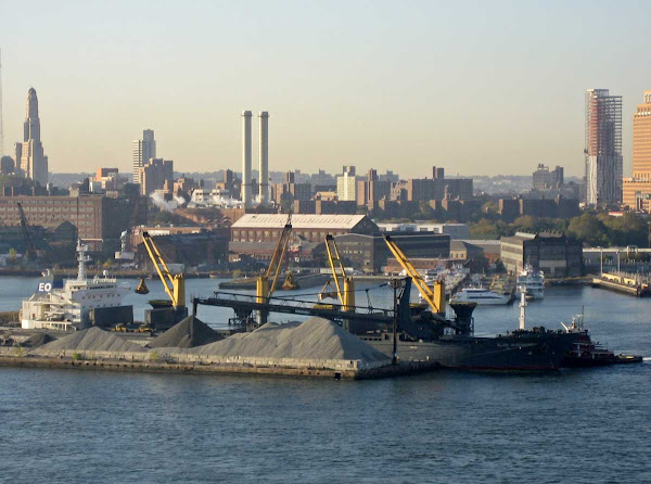 Brooklyn Navy Yard 1 - From the Williamsburg Bridge.