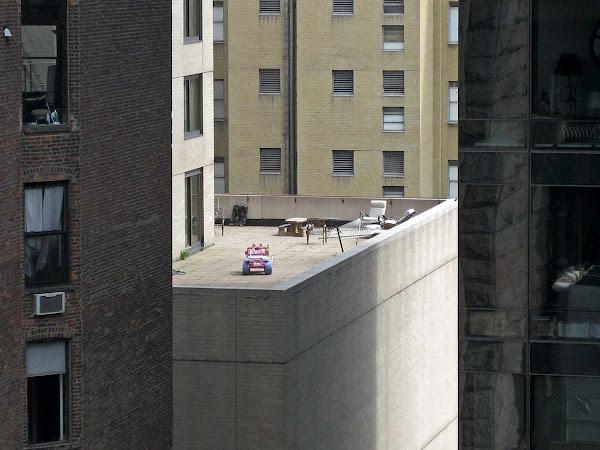 Upper East Side Patio - From the Queensboro Bridge.