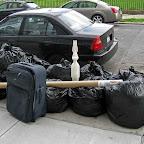 Trash Bunny - On Bayard in Williamsburg.