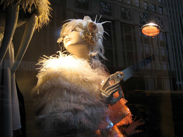Walrus Dentist - In Bergdorf Goodman's 2009 holiday windows.