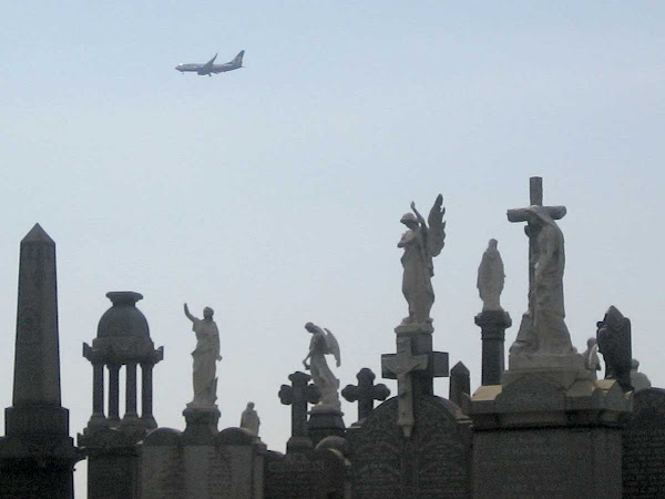 Earthbound Angels Wave - At First Calvary Cemetery in Blissville, Queens.