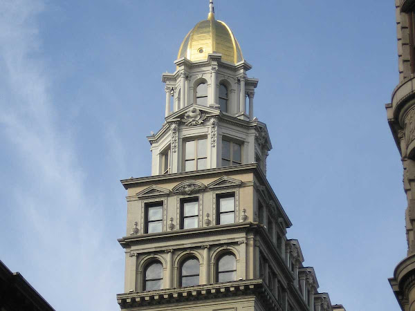 Sohmer Piano Building - The top of the building, at 5th Ave. & 22nd St.