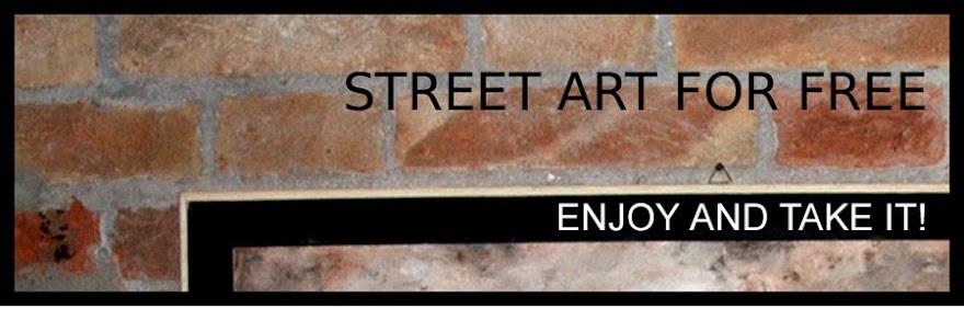 Street art for free