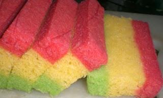 ... dari situ aku mereka-reka klo ini menggunakan teknik sponge cake