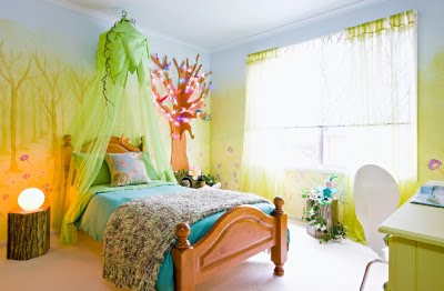 Frangipani House Enchanted Bedroom Art From Better Homes