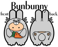 Bunbunny  兔包包(男仔)