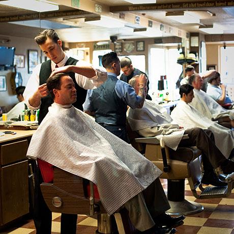 Barber Shop Costa Mesa : ... Hawley donnie hawley and his crew is hawleywood s barber shop that