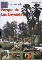 Revista por el 40 aniversario del Parque de Las Leyendas (2004).