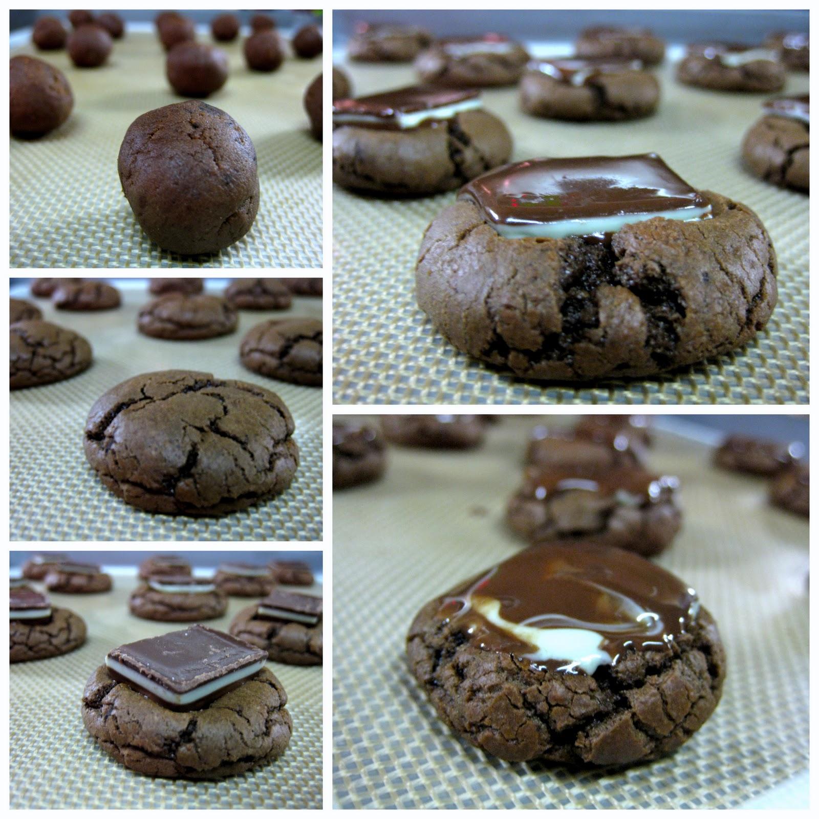 Full Circle Foodie: andes chocolate mint cookies