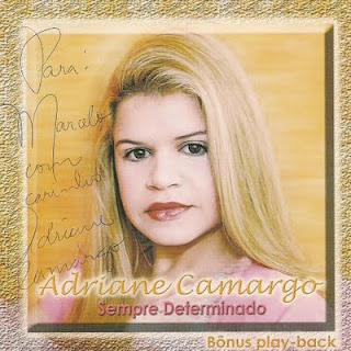 Adriane Camargo - Sempre Determinado - Playback