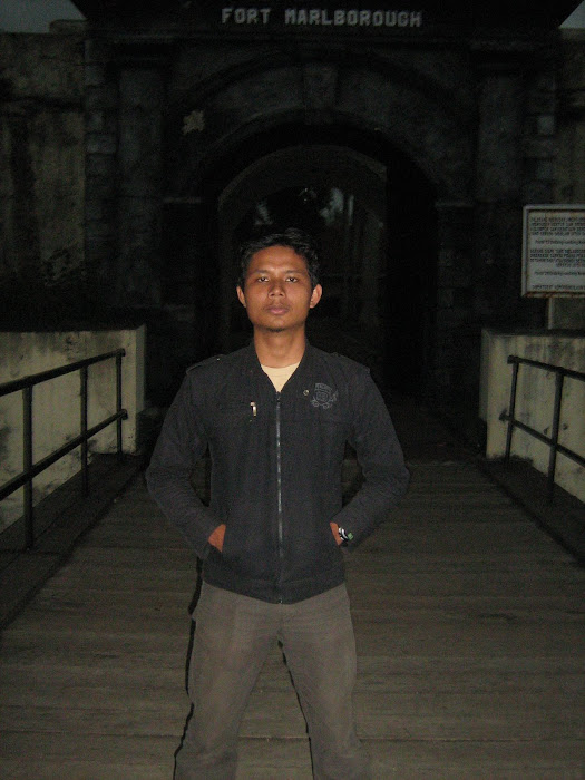 Wilian Dalton di benteng Fort Marlborough