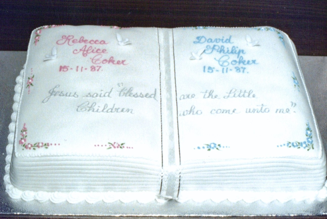 What To Write On A Cake For A Baptism