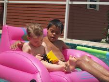 Jordan and Lucas
