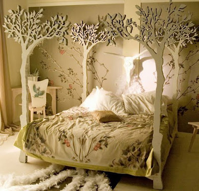 fantasy bed called under the apple tree by attila design