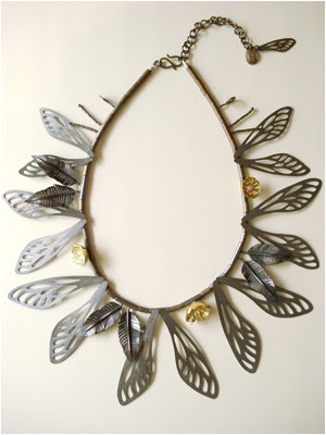 elizabeth goluch butterfly necklace