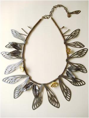 elizabeth goluch butterfly necklace
