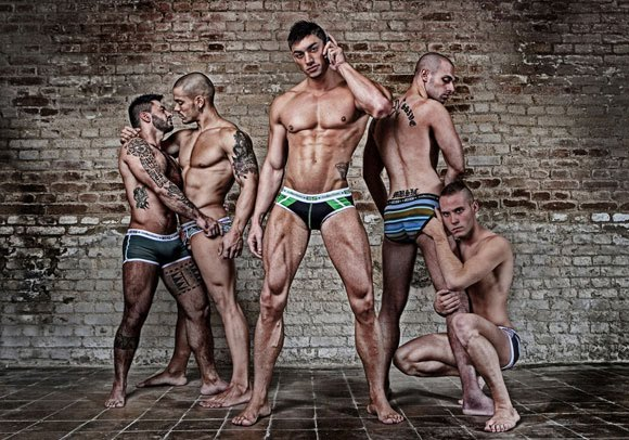 sexy underwear male models